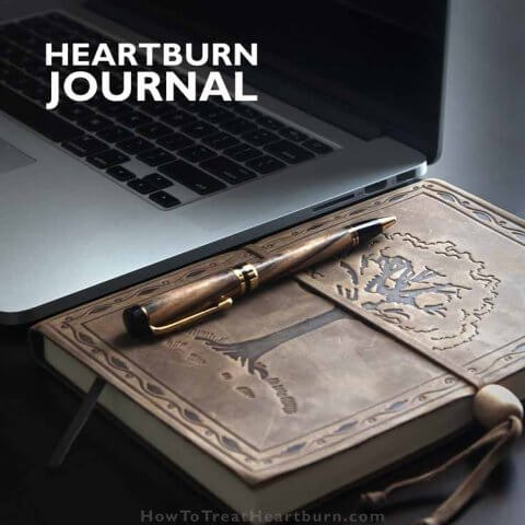Heartburn Journal for Isolating Triggers