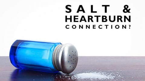 Salt and heartburn connection