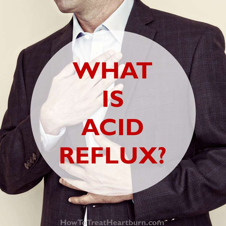 how to fix acid reflux