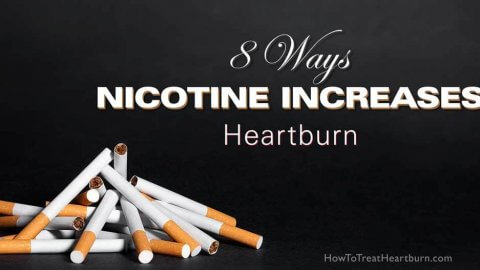8 Ways Nicotine Increases Heartburn