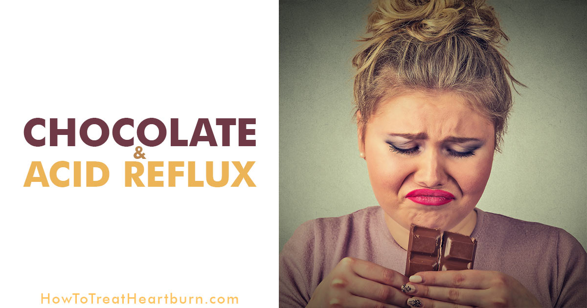 Contents of chocolate and side effects from eating chocolate can lead to acid reflux, but should everyone prone to acid reflux or GERD remove chocolate from their diet? Which form of chocolate is less prone to causing acid reflux? White chocolate, milk chocolate, or dark chocolate? What about carob as a substitute?