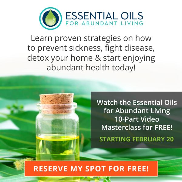 Essential Oils for Abundant Living Masterclass