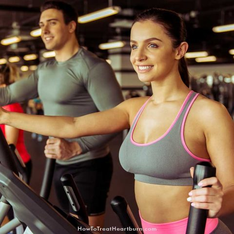 Exercise improves digestion, reduces stress, and lowers weight. All of which can help in reducing the frequency of heartburn. But some exercises can cause or make heartburn worse. Want to know the best heartburn friendly exercises? #HeartburnRemedies #AcidRefluxRemedies