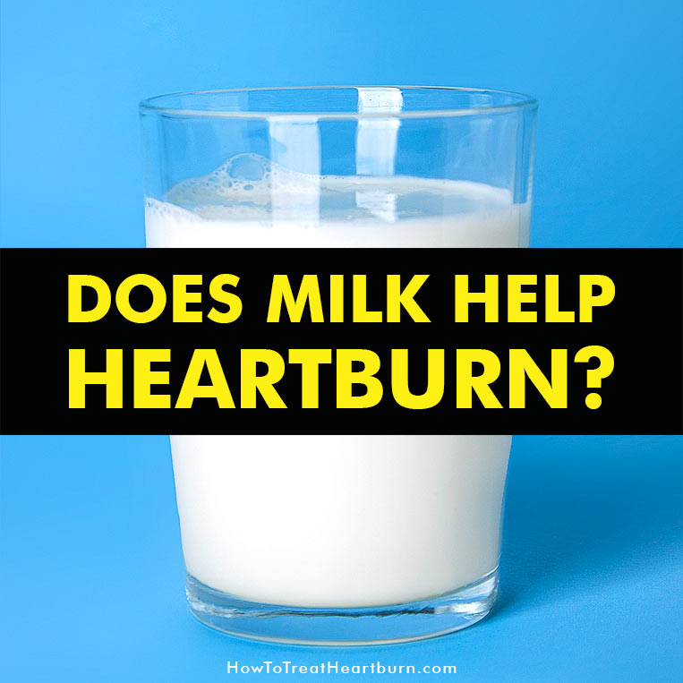 Milk can coat the esophagus and stomach to provide temporary relief from heartburn. Its barrier against acid is soothing but it's a temporary heartburn remedy. Milk can actually increase heartburn in the following 4 ways...