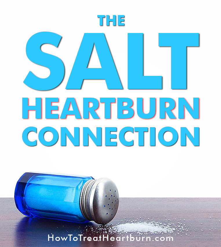 Does salt contribute to heartburn, acid reflux, or gastroesophageal reflux disease (GERD)? Check out the conclusions from these studies.
