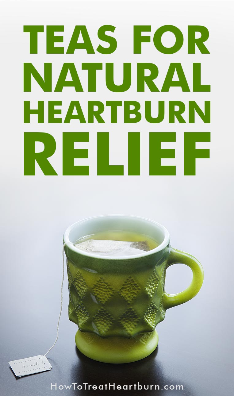 Ever wondered what teas are best for naturally treating heartburn? Here's your list of teas for natural heartburn relief.