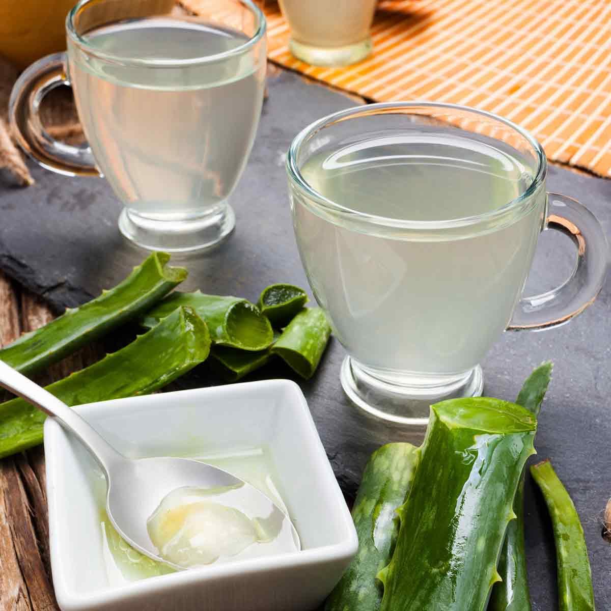 Aloe Vera, Apple Cider Vinegar, Manuka Honey Drink For