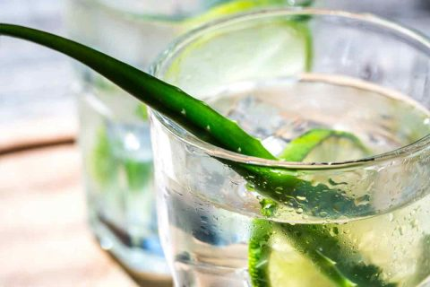 aloe vera coconut water drink for acid reflux