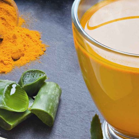 Aloe Vera Juice and Turmeric Drink Recipe For Heartburn