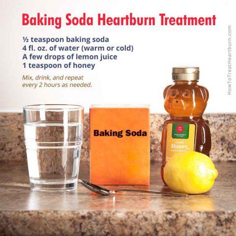 Baking Soda Heartburn Treatment