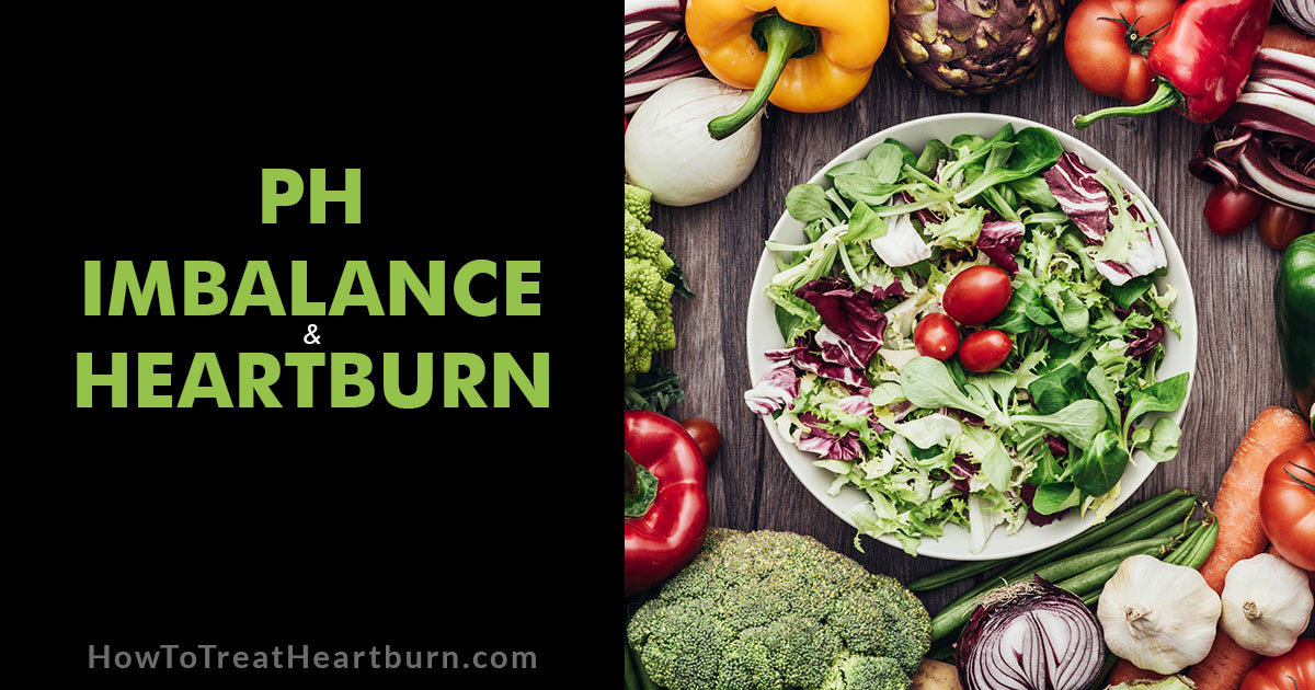 Maintaining a proper pH balance can help eliminate heartburn and acid reflux.