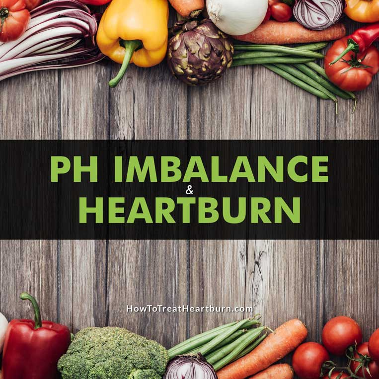 pH imbalance can lead to heartburn and acid reflux.
