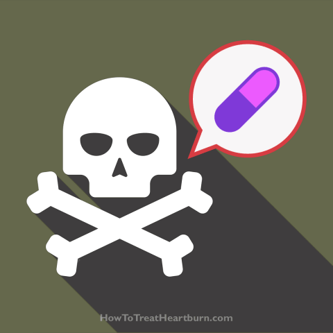 PPIs increase the risk of mortality
