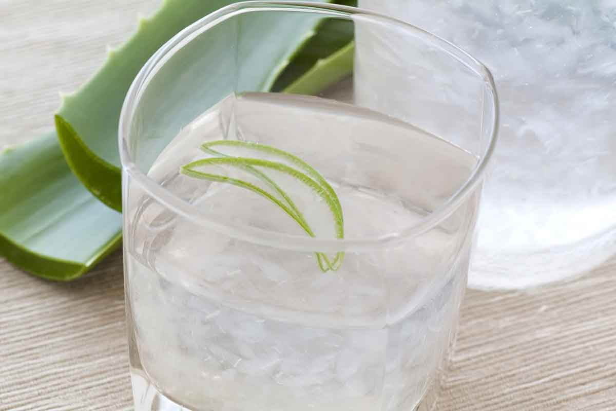 Aloe vera drink for acid reflux