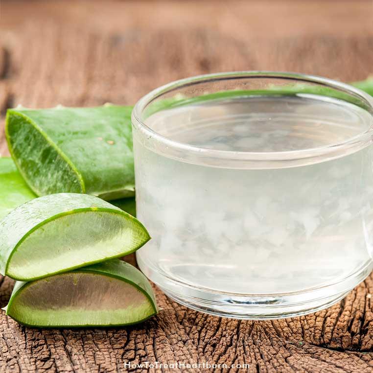 Aloe Vera For Acid Reflux Symptoms - How to Treat Heartburn
