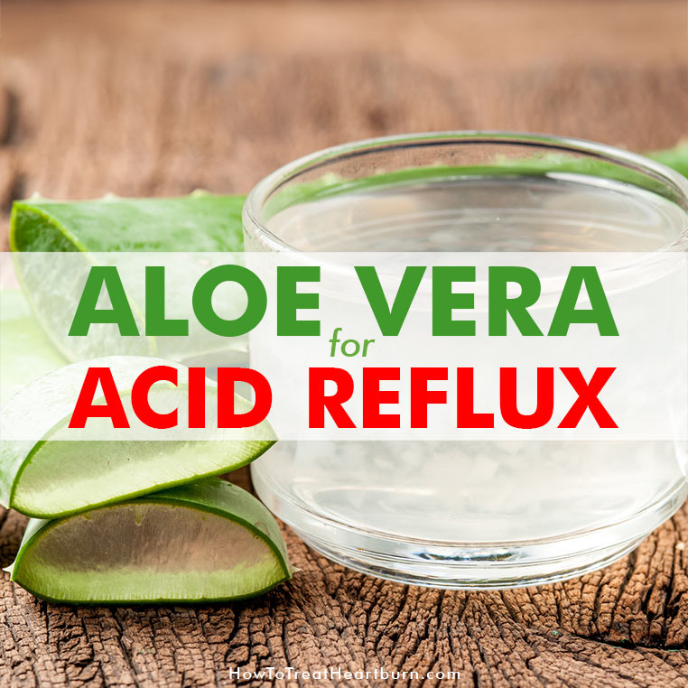 Aloe vera for heartburn and other acid reflux symptoms: Aloe vera can be used as a natural acid reflux remedy to provide heartburn relief and promote healing of the digestive tract. Check out the different ways aloe vera can be used for the relief of acid reflux symptoms.