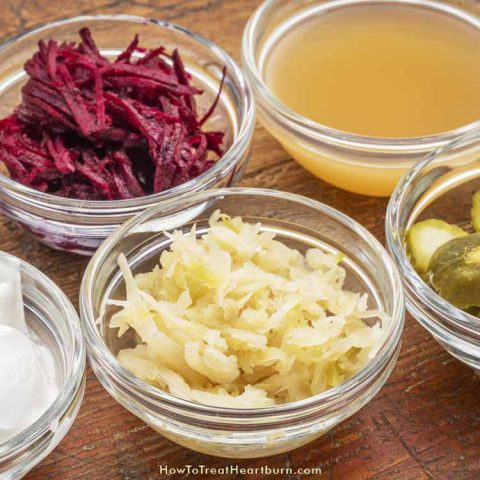 Lacto-Fermented Foods and Beverages Treat Heartburn