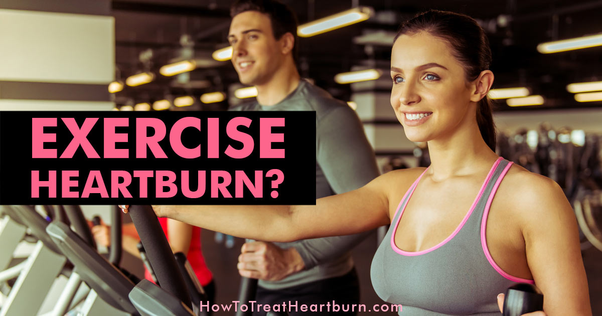Exercise Without Heartburn: Exercise improves digestion, reduces stress, and lowers weight. All of which can reduce heartburn frequency. But heartburn during exercise can occur. Some exercises cause or make heartburn worse. Want to know the best heartburn friendly exercises?