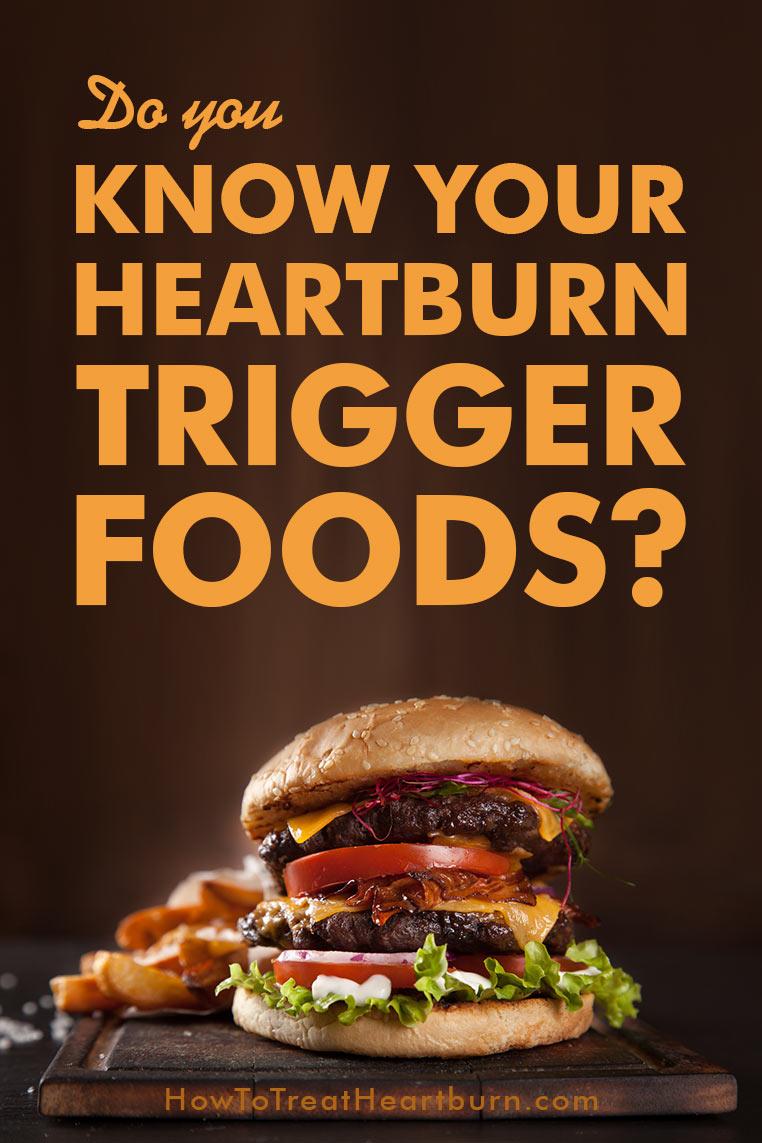 heartburn foods trigger acid reflux cause drinks food gerd triggers diet consider candy