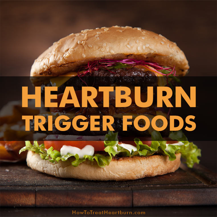 Some food and drink are heartburn triggers. Know which foods are causing your heartburn symptoms and acid reflux symptoms. A GERD diet removes these heartburn triggers.