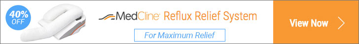 The MedCline Acid Reflux/GERD Pillow System is the most effective natural solution for treating painful nighttime heartburn, acid reflux and GERD.