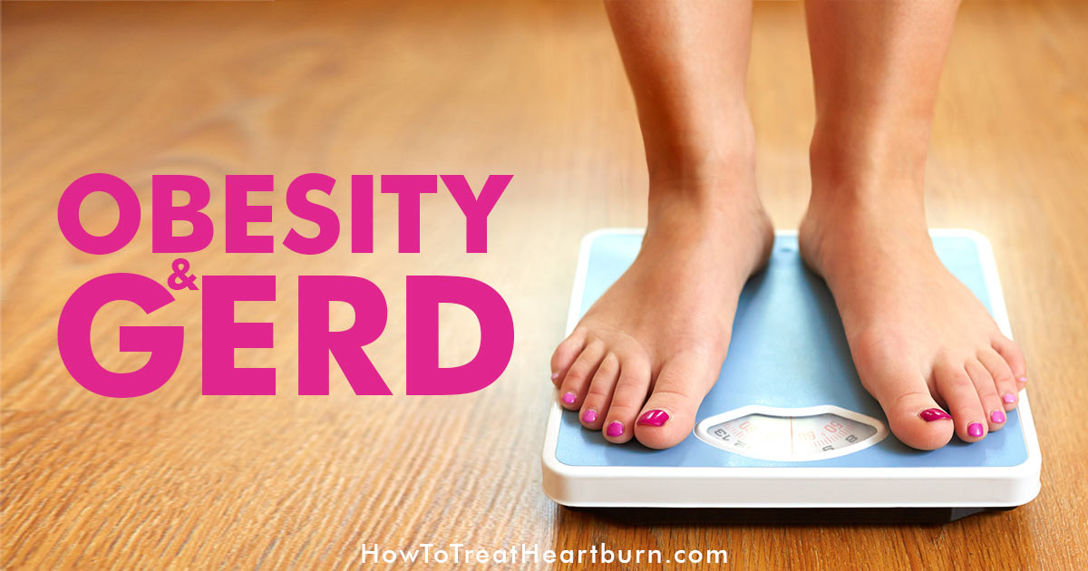 GERD symptoms like acid reflux and heartburn are strongly connected to obesity. Obesity is the leading cause of GERD symptoms. Weight gain increases the risk of GERD, including those whose weight is considered to be in a normal range.